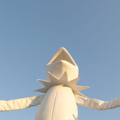 Melanie Vote: Kermit, 2014, mixed media sculpture