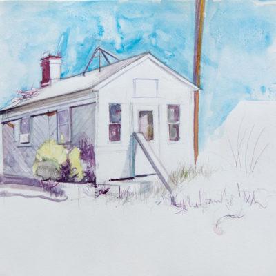 Melanie Vote: Tommy's (2014), watercolor, 9 x 12in.