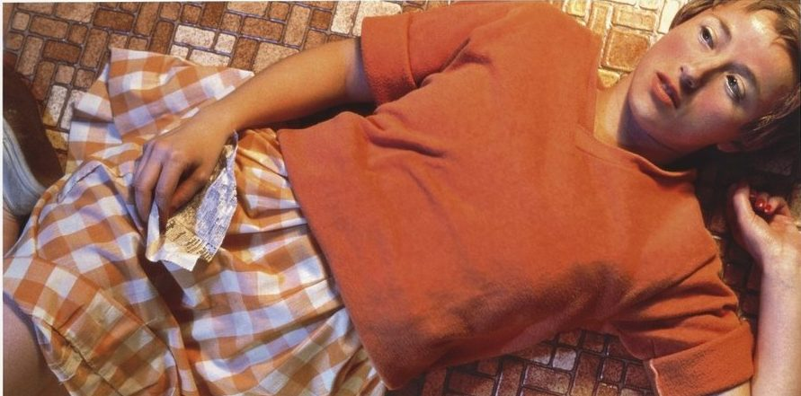 Cindy Sherman, 1981 Untitled #96, chromogenic color print, 24 in × 48 in