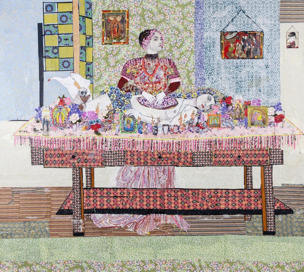 Maria Berrio, The Harvest, 2014