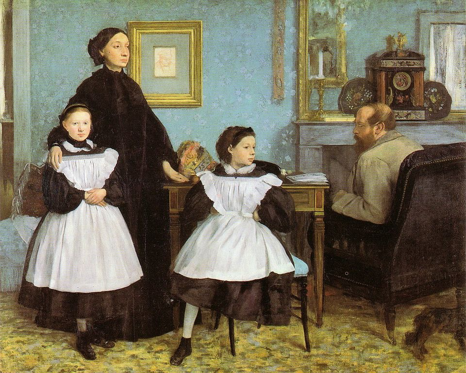 The Bellelli Family, also known as Family Portrait, is an oil painting on canvas by Edgar Degas